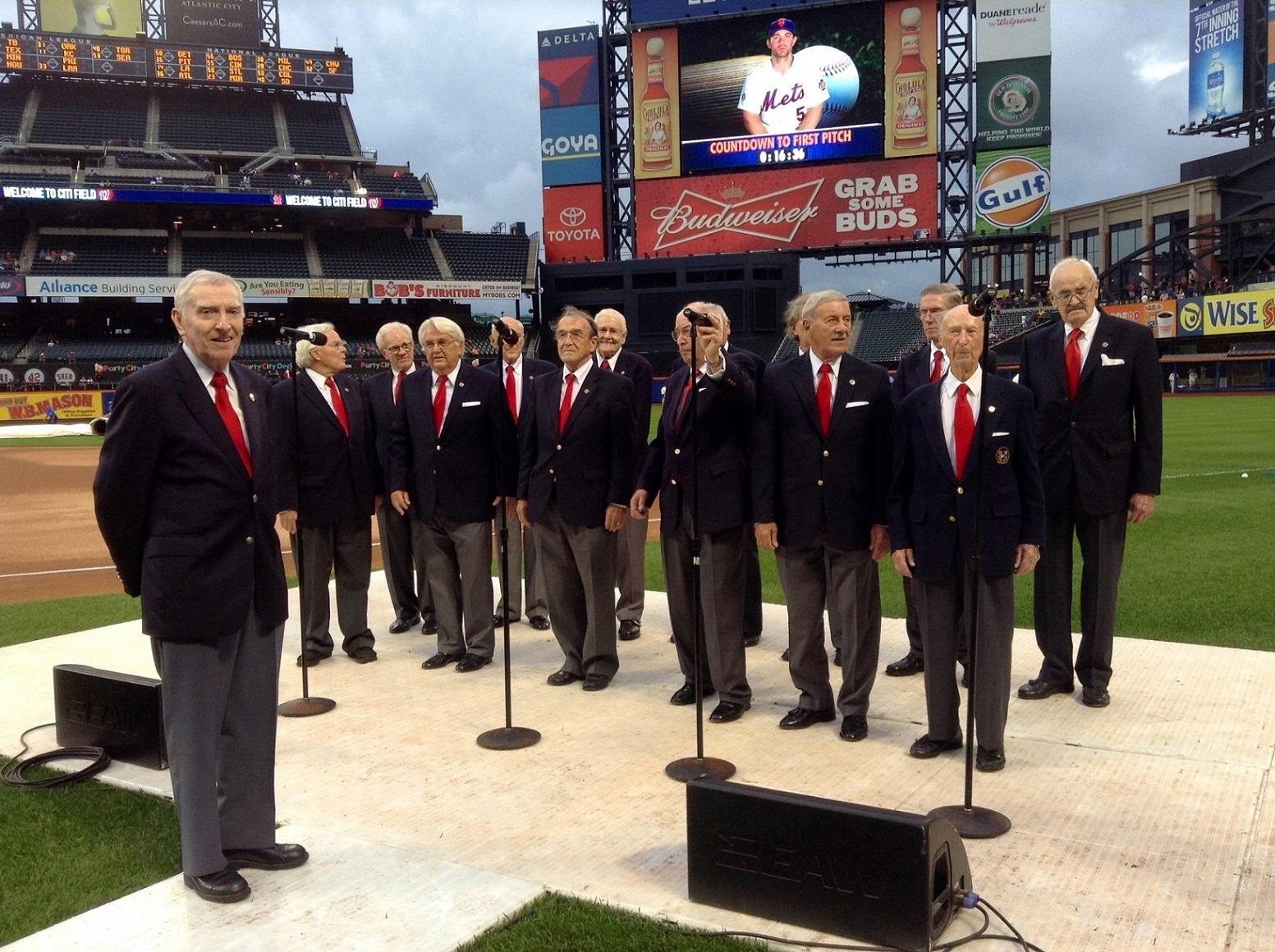 Performance at Citi Field - National Anthem