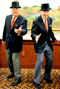 Jerry Schwindeman and Tom Healy as the Tom & Jerry Dance Show